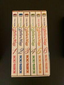 Sailor Moon Manga Set 1 ENGLISH Vol. 1-6 Kodansha Comics Naoko Takeuchi