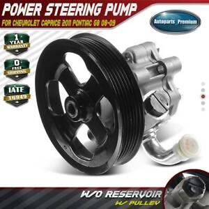 For Pontiac G8 2008-2009 ACDelco GM Original Equipment Power Steering Pump