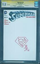 Superman 32 CGC SS 9.8 1st John Romita Original art Sketch Variant Signed