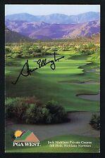 Steve Elkington signed autograph PGA West Scorecard