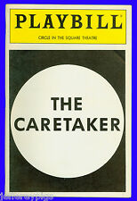 Playbill + The Caretaker + Gary Sinise , Jeff Perry , Alan Wilder