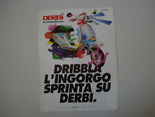 advertising Pubblicità 1990 DERBI DS 50