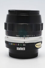 VINTAGE AND RARE NIKON MICRO-NIKKOR 55MM F3.5 NON -AI COMPENSATING