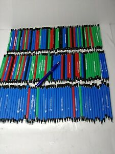 150 Wholesale Lot Misprint Plastic Mechanical Pencils with extra Lead + Flashlig