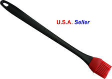 """Silicone Basting Brush Long 13.5"""" Turkey BBQ Grill Pastry Red Tools & Gadgets"""