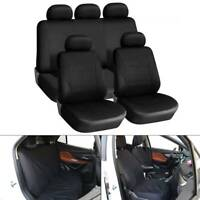 9pc Universal Car Seat Covers Set Protectors Washable Dog Pet Front Rear