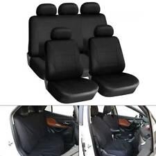 9pc Universal Car Seat Covers Set Protectors Washable Dog Pet Front Rear