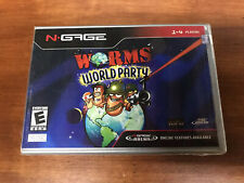 Worms World Party (N-Gage) - Brand New FACTORY SEALED ngage