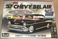 Revell 1957 Chevy Bel Air SnapTite Max 1:25 scale plastic model kit new 1529