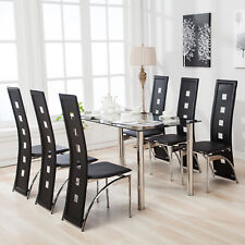 Glass Dining Furniture Sets | eBay