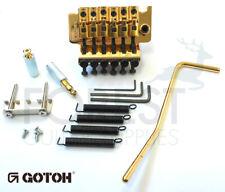 Gotoh GE1996T Floyd Rose ® licensed Locking tremolo bridge, gold