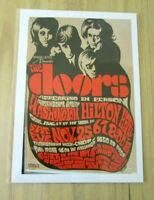 THE DOORS : WASHINGTON HILTON HOTEL : A4 GLOSSY REPRODUCTION POSTER