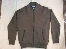 Mens Barbour Full Zip Wool Cardigan Sweater weather comfort Large Portugal