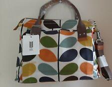 ORLA KIELY Nautical Multi Stem Print Handbag in Multi