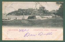 Lazio. CAPODIMONTE, Viterbo, Lago di Bolsena. Cartolina viaggiata nel 1905.
