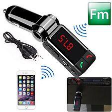 Universal Vehicle Wireless Bluetooth FM Transmitter MP3 Radio Player Charger Kit