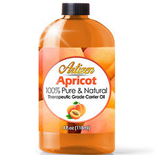 Artizen Apricot Carrier Oil (100% PURE & NATURAL - UNDILUTED) - 4oz