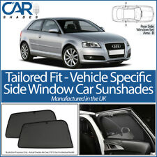 AUDI A3 3 DOOR 2003 - 2012 CAR SHADES UK TAILORED UV SIDE WINDOW SUN BLINDS