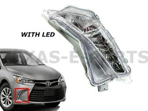New Fits 2015-2017 Toyota Camry Left Front Day Time Running Light Lamp LED DRL