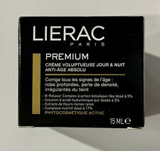 Lierac Premium Day & Night Voluptuous Cream 0.50 oz. 15 ml Absolute anti-aging