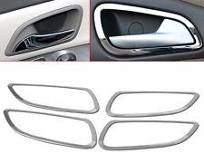 4Pcs Interior Inside Door Handle Cover Trim Stainless Steel For Chevrolet Cruze