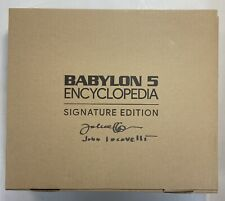 Babylon 5 Encyclopedia Signature Edition John Iacovelli Autograph
