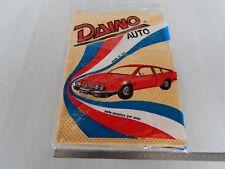 panno auto + raschia vetro vintage con disegno Alfa Romeo Alfetta Alfa GT