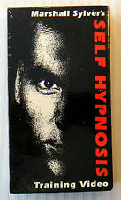 Marshall Sylver's Self Hypnosis Training Video ~ New VHS Movie ~ Guide