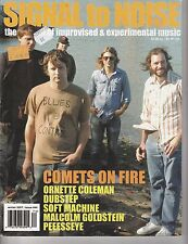 WINTER 2007 SIGNAL TO NOISE music magazine COMETS ON FIRE - DUBSTEP - PEEESSEYE