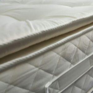 4ft6 Double Orthopaedic 3000 GSM Deep Fill Sprung Pillow Top British Mattress