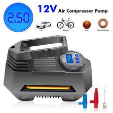 AUDEW 12V 150PSI Portable Car Air Compressor Digital AUTO Tire Inflator
