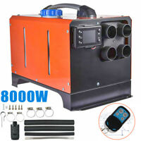 12V 2KW-8KW Diesel Night Air Heater Fuel Tank LCD Controller for Car Truck Boat