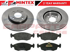FOR FIAT PUNTO 1.8HGT MINTEX FRONT BRAKE DISCS & BRAKE PAD PADS SET BRAND NEW