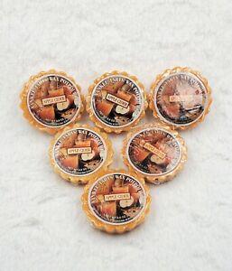Yankee Candle Apple Cider Tarts - Original Round Label - Lot of 6