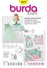BURDA SEWING PATTERN KIDS BABY ACCESSORIES  9479 SALE