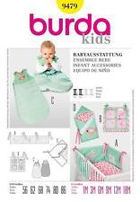 Burda patrón de costura Niños Bebé Accesorios 9479 Venta