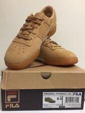FILA Original Fitness Lux Youth Sneakers USA Size 6.5/ EUR 39 (VTAN/ SBIR/ GUM)