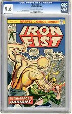Iron Fist    #4   CGC  9.6   NM+    off - white to white pages