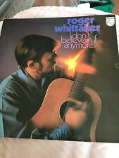 LP Vinyl - Roger Whittaker - I don't believe in if anymore