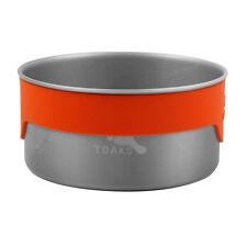 TOAKS BWL-02 Titanium Bowl Outdoor Camping Picnic Bowl Cookware