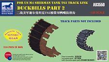 AB3550  1/35 BRONCO Duckbills M4 for T62 track link