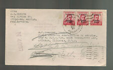 1946 Sampaloc Manila Philippines Cover to Chicago USA