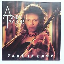 ANDY TAYLOR Take it easy 789 414 7 WE 171 Discothèque RTL
