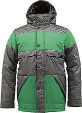 BURTON Men's TWC WARM AND FRIENDLY Snow Jacket - JetPack/TreeFrog - XLarge - NWT