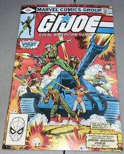 G.I. Joe #1 Marvel 1982 1st App Appearance Cobra Commander, Baroness, Hawk