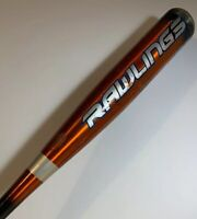 "Rawlings RAPTOR Youth Baseball Bat YBRAP2 29/16.5 -12.5 2 1/4"" Barrel, Pre-owned"