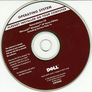 DELL Microsoft Windows XP Home Service Pack 1a CD