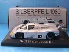 Max 1/43 Scale Diecast - 110020 Sauber Mercedes C9 Silberpfeil 1989