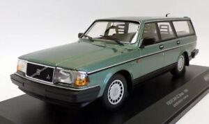 1986 Volvo 240 GL Break Wagon Green Minichamps 1/18 Scale Us Seller !