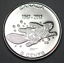 Canada 1867 - 2017 BU 5 Cents Canadian 150th Anniversary - Living Tradition
